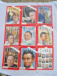 Click to view larger image of Time Magazine 1963 Collection 26 Issues Clay (Image3)