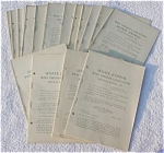 1931 West Virginia State Journals w/Org. Mail