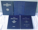1st (5) Annuals/Yearbooks 1930-34 St. Albans