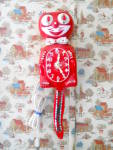 Click to view larger image of Jewled Red Animated Kit Cat Klock Clock w/Box (Image2)