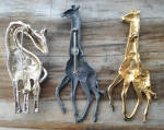 Click to view larger image of 3 Different Giraffe Brooch Pins (Image2)