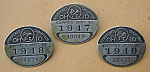 1947-49 Ohio Chauffeur Badges