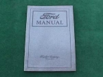 1922 Ford Owners/Operators Manual