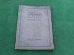 1920's Dealer Ford Battery Manual