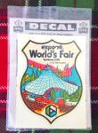 1974 Expo World's Fair Travel Decal