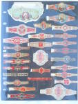 Click to view larger image of Very Lg. Collection of Old Cigar Bands/Labels (Image3)