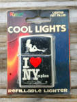 Click to view larger image of Kalan Cigarette Lighter I LOVE NYMPHOS (Image1)