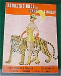 Click here to enlarge image and see more about item cir10: '52 Ringling, Barnum & Bailey Circus Program