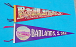 Badlands, S.D. Souvenir Felt Pennants