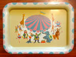 Click to view larger image of 1950's Circus TV Tray (Image1)
