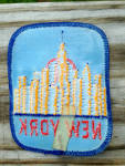 Click to view larger image of Old Patch Skyline of New York City (Image2)