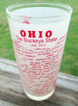 Click to view larger image of State of Ohio Hazel Atlas Souvenir Glass (Image2)