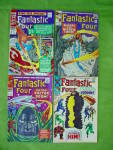 Click here to enlarge image and see more about item com2: Fantastic Four Comic Collection #4KS 47,57,67