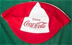 Click to view larger image of 1950's Child's Coca-Cola Cap (Image1)