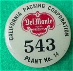 Del Monte Employee Badge