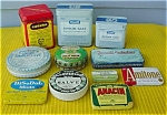 Huge Early Lot of Drug/Pharma. Tins