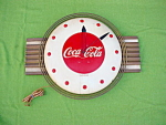 1940's Telechron Coca Cola Wall Clock