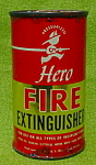 Click to view larger image of Early, Hero Fire Extinguisher Tin (Image1)