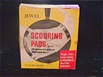 1960's Jewel Tea Scouring Pads w/Org. Box