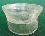 Click here to enlarge image and see more about item db13: Miltary Hat Glass Candy Container
