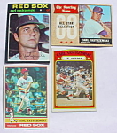 Yastrezemski Boston Red Sox Baseball Cards