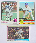 Click to view larger image of Steve Garvey L.A. Dodgers Baseball Cards (Image1)