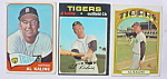 Detroit Tigers Al Kaline Baseball Cards