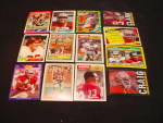 Click to view larger image of 60's-80's San Francisco 49ers Football Cards (Image2)