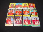 Click to view larger image of 60's-80's Kansas City Chiefs Football Cards (Image1)