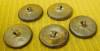 Click to view larger image of (5) Matching Victorian Bird on Limb Buttons (Image2)