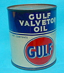 Early Pt. of Gulf Valvetop Oil Never Opened
