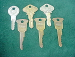 Lot of Old Automobile Keys