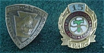 Pr. of Railroad Service Pins