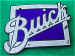 Old Buick Enameled Emblem