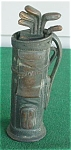 Vintage Golf Bag w/Clubs Cigarette Lighter