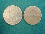 Pr.  of 1962 Seattle World's Fair Tokens