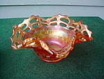 Carnival Glass Nut Dish