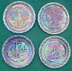Click to view larger image of 1970-76 Fenton Amethyst Christmas Plates (Image1)