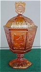 Click to view larger image of Imperial Marigold Zodiac Candy Box & Cover (Image1)