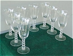 Click to view larger image of (8) Impeial Candlewick 9 oz. Goblets (3400) (Image1)