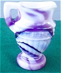 Imperial Purple Slag Miniature Pitcher