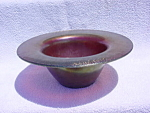 Click to view larger image of Early Iridescent Imperial Free Hand Bowl (Image1)