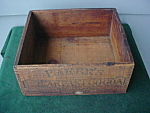 Adver. Baker's Cocoa Wood Box