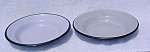 Pr. of Gray Graniteware Pans