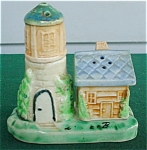 3 Pc. Cottage & Lighthouse Tower S&P Set