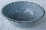 Sm. Gray Graniteware Dough Bowl