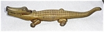 Old Cast Alligator Nut Cracker