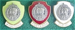 Click here to enlarge image and see more about item dm17: (3) 1959 Soviet CCCP Enameled Pinbacks