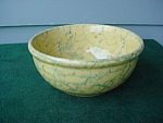 Click to view larger image of Old Spongeware Bowl (Image1)