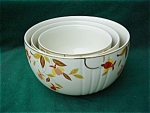 Hall Jewel Tea 3 Pc. Nested Mixing Bowl Set